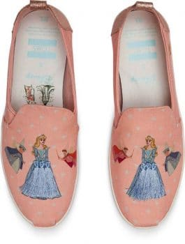 Toms Debuts Magical Disney Princess Collaboration - cinderella
