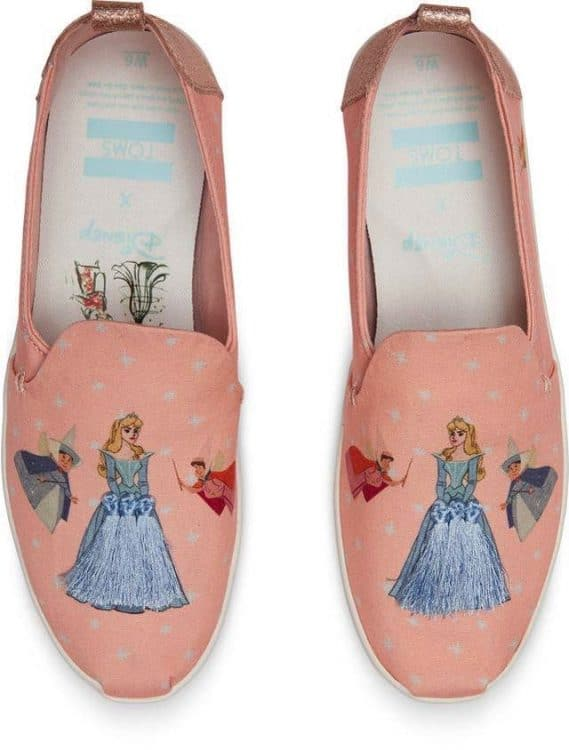 Toms Debuts Magical Disney Princess Collaboration - cinderella