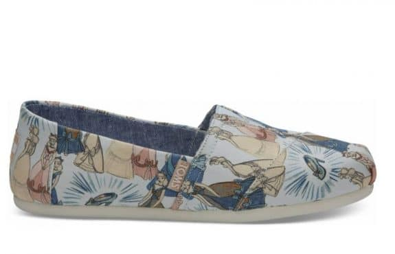 Toms Debuts Magical Disney Princess Collaboration - cinderella shoes