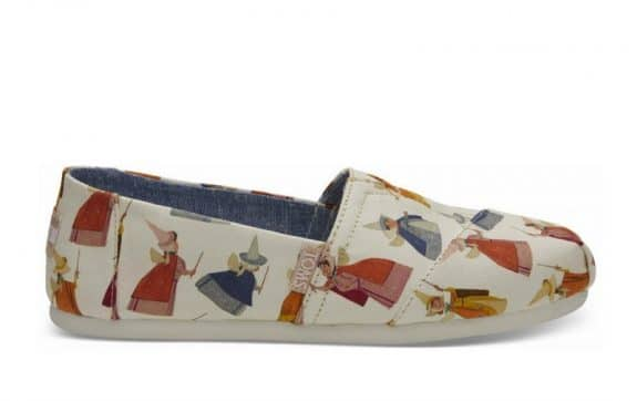 Toms Debuts Magical Disney Princess Collaboration - fairy godmother