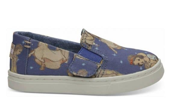 Toms Debuts Magical Disney Princess Collaboration - girl's cinderella