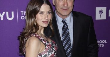 Very pregnant Hilaria and Alec Baldwin at NYU Tisch School of the Arts 2018 Gala f