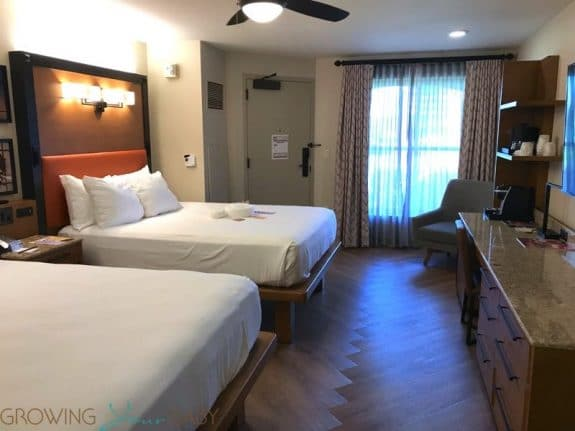Walt Disney World Coronado Springs Resort - newly renovated cabana suite