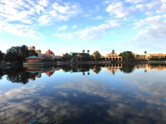 Walt Disney World Coronado Springs Resort - view of the resotr