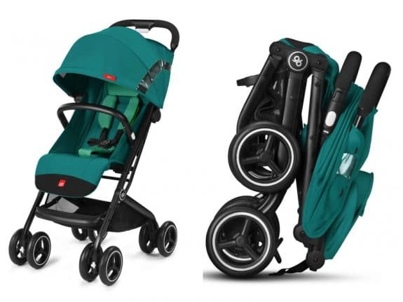 compact travel stroller GB Qbit plus
