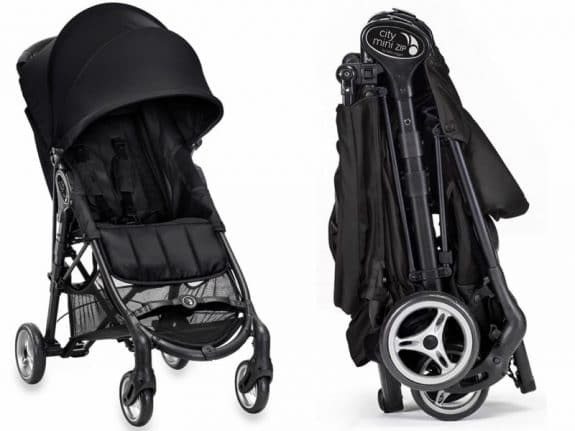 compact travel stroller baby jogger city mini ZIP