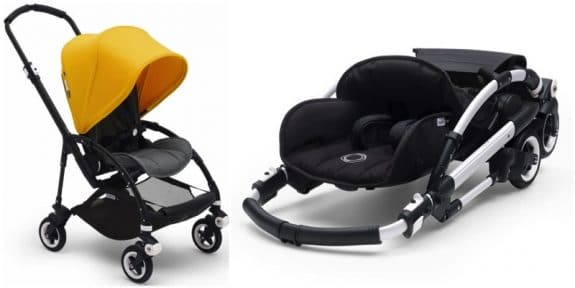 compact travel stroller bugaboo bee5