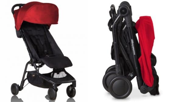 compact travel system Mountain Buggy Nano Stroller