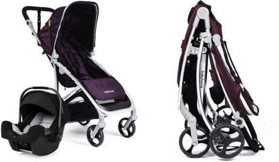 compact travel system babyhome Vida