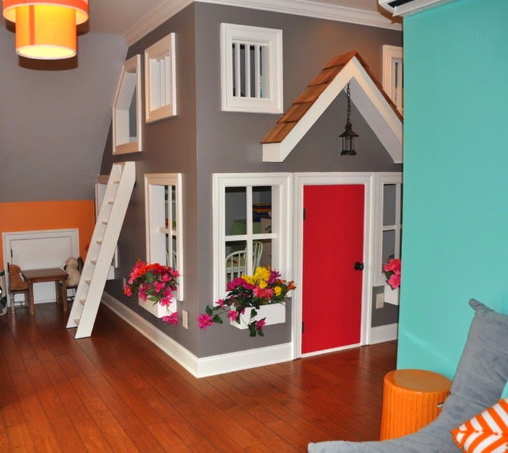 Indoor 2 Story Playhouse Bbmunro