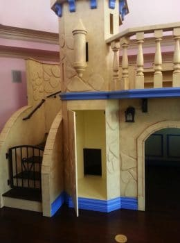 indoor kids playhouse castle