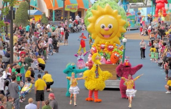 sesame place parade