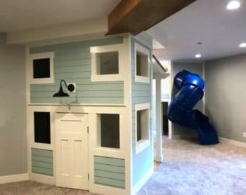 two floor indoor playhouse