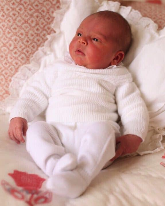 First official photo of Prince Louis