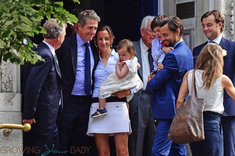 Hugh Grant And Anna Eberstein Get Married In London