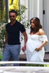 Very Pregnant Eva Longoria and Jose Baston celebrate baby shower in LA