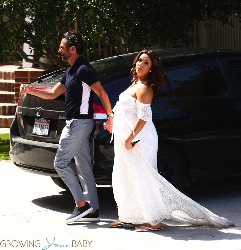 Very Pregnant Eva Longoria And Jose Baston Celebrate Baby Shower In