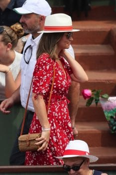 pregnant Pippa Middleton attends the 2018 French Open