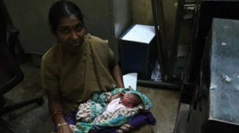 Archana, the policewoman, recently gave birth to her own child