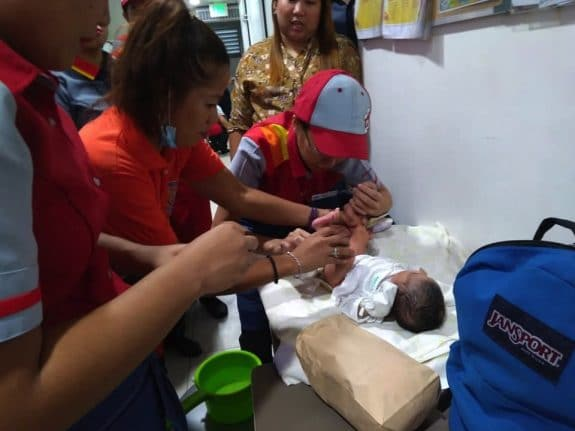 Jollibee Supervisor Breastfeeds Abandoned Newborn