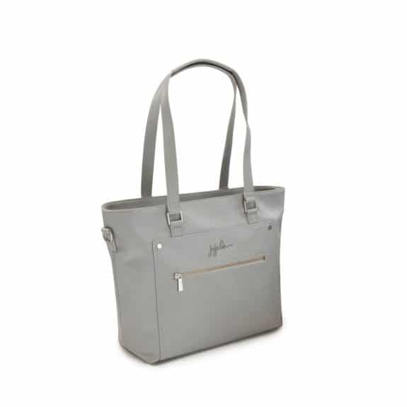 JuJuBe Ever Everyday Tote Stone Product Vegan Leather diaperbag