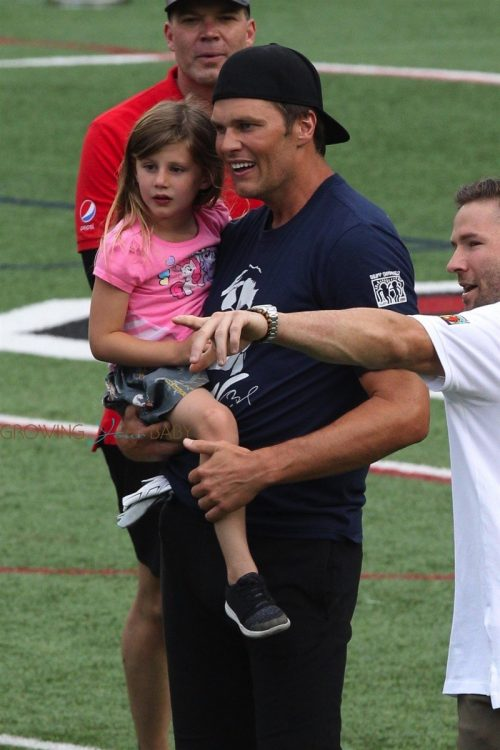 Tom Brady at Best Buddies Charity Event with daughter Vivian
