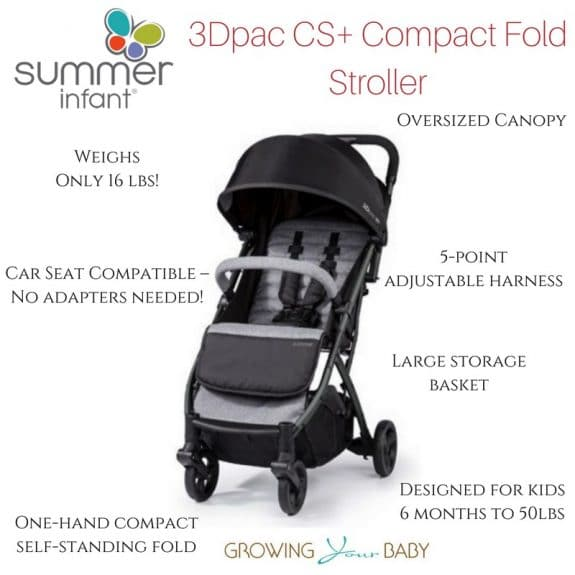3Dpac CS+ Compact Fold Stroller review