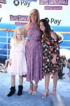 Elisabeth Rohm with daughter Easton at the premiere of Hotel Transylvania 3 Summer Vacation