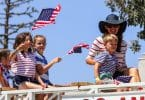 Jennifer garner celebrates 4thof july with Sam and Seraphina