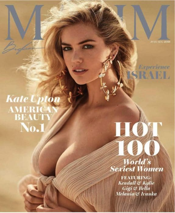 Kate Upton Hot 100 cover