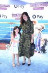 Kathryn Hahn with daughter Mae at the premiere of Hotel Transylvania 3 Summer Vacation