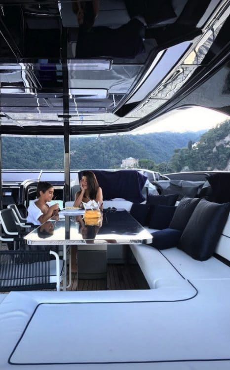 Kourtney Kardashian Vacations in Italy With Her Kids