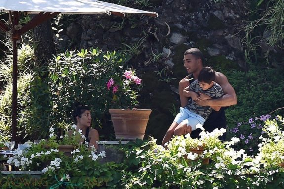 Kourtney Kardashian, Younes Bendjima, Mason Disick
