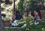Kourtney Kardashian, Younes Bendjima, Penelope Disick, Mason Disick