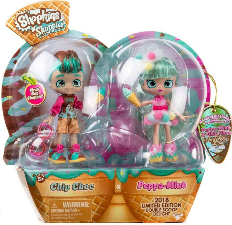 Limited Edition Shopkins Shoppie Doll For San Diego Comic Con