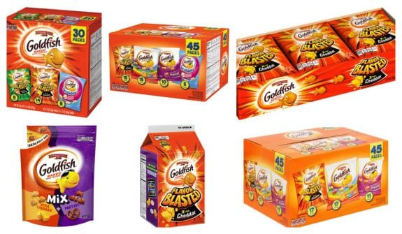Pepperidge Farm Announces Recall of Four Varieties of Goldfish Crackers