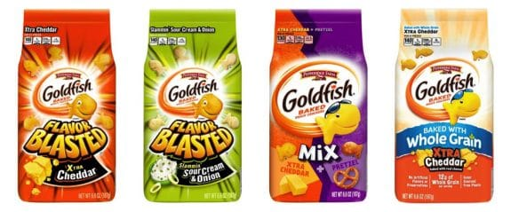 Pepperidge Farm goldfish cracker recall