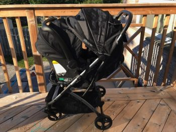 Summer Infant 3Dpac CS+ Compact Fold Stroller as a travel system