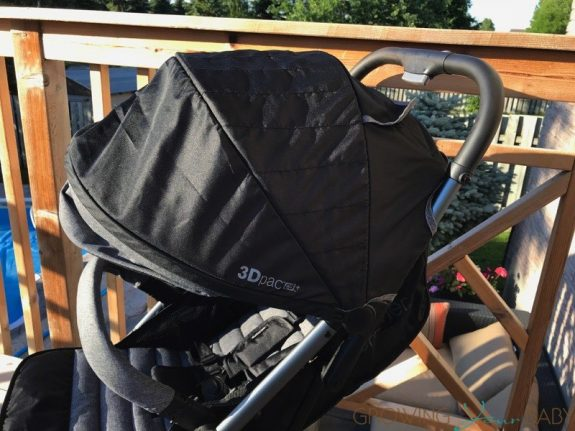 Summer Infant 3Dpac CS+ Compact Fold Stroller - canopy