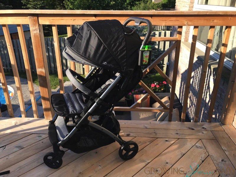 Summer Infant 3Dpac CS+ Compact Fold Stroller f