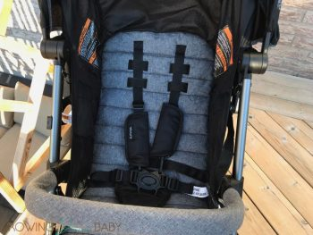 Summer Infant 3Dpac CS+ Compact Fold Stroller - seat