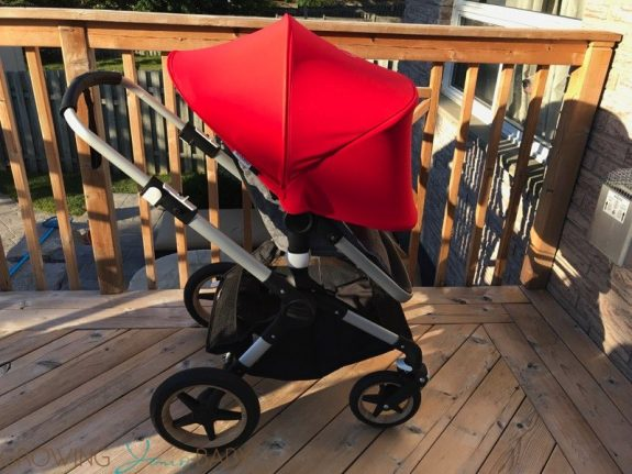 bugaboo fox - sun canopy expanded forward facing