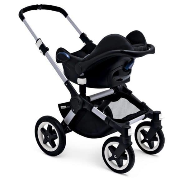 bugaboo fox with inant car seat