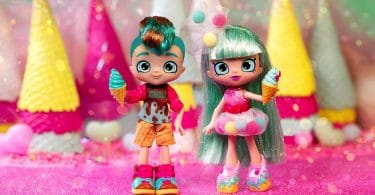 comic con exclusive Peppa-Mint and her cousin Chip Choc