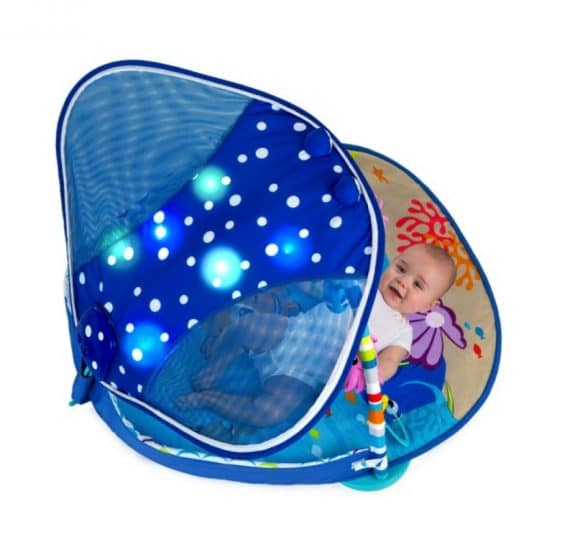 Disney Baby Finding Nemo Mr. Ray Ocean Lights Activity Gym