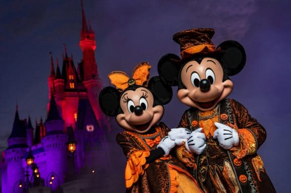 Mickeys Not-So-Scary Halloween Party Transforms Magic Kingdom Park After Dark