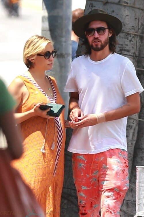 Pregnant Kate Hudson, Danny Fujikawa lunch in Santa Monica