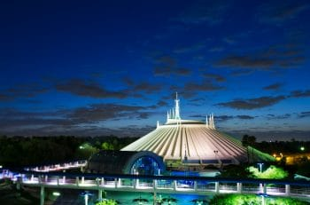 Space Mountain Transforms for Mickeys Not-So-Scary Halloween Party at Magic Kingdom Park