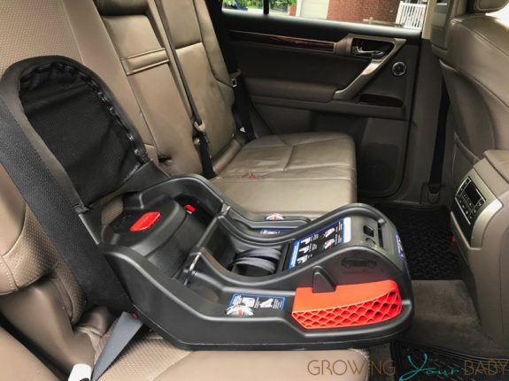 Britax Endeavours Infant Car Seat Review - base