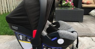 Britax Endeavours Infant Car Seat Review - seat out of the car